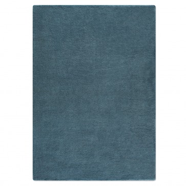 Wollteppich COLOR nachtblau